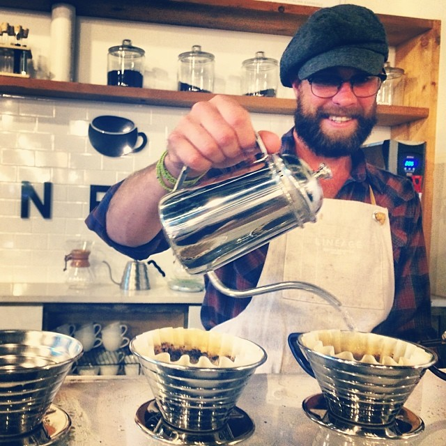 A Pour Over at the Lineage bar